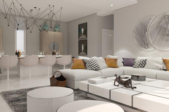 Interior Design for house in Marrakech