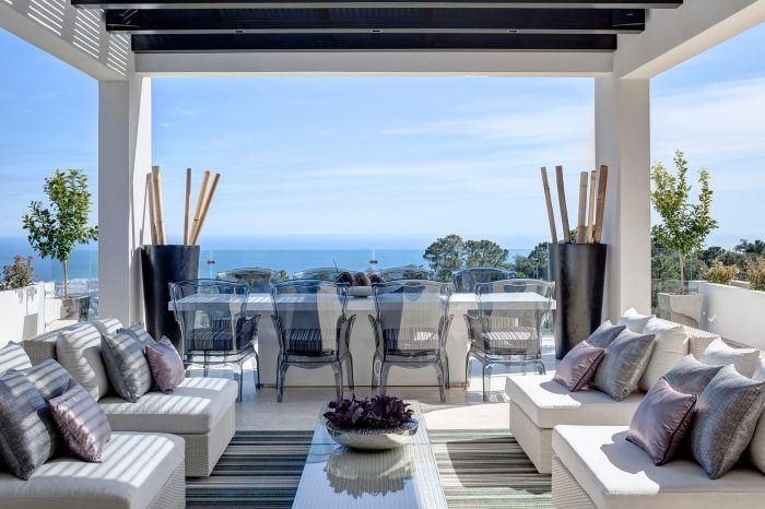 Terrace in Marbella