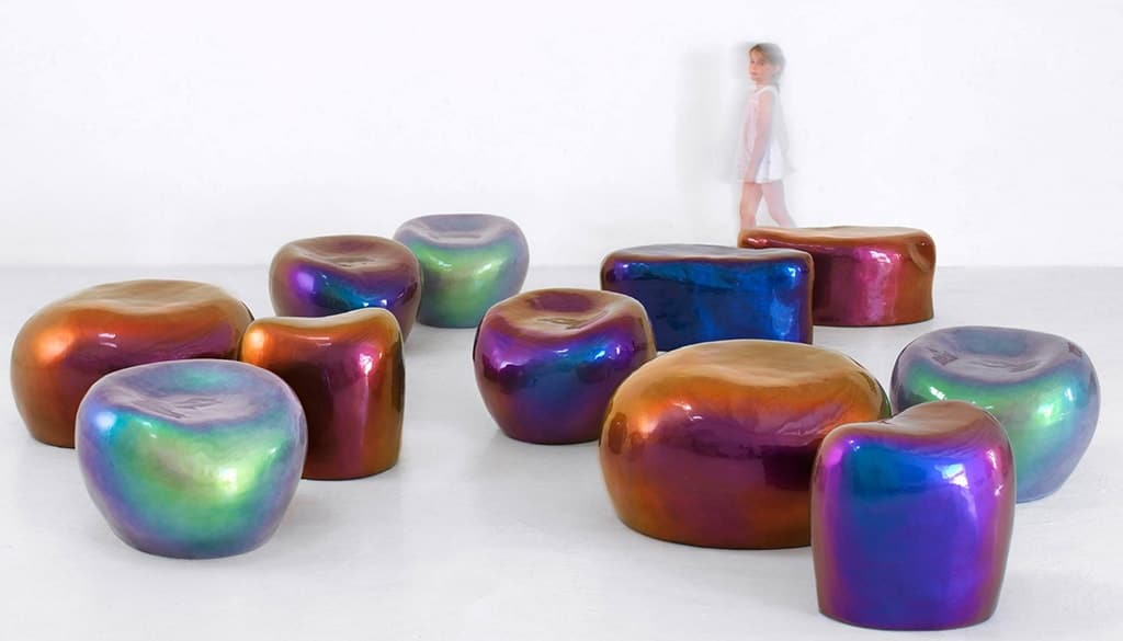 BEETLE STOOLS by IMPERFETTO LAB