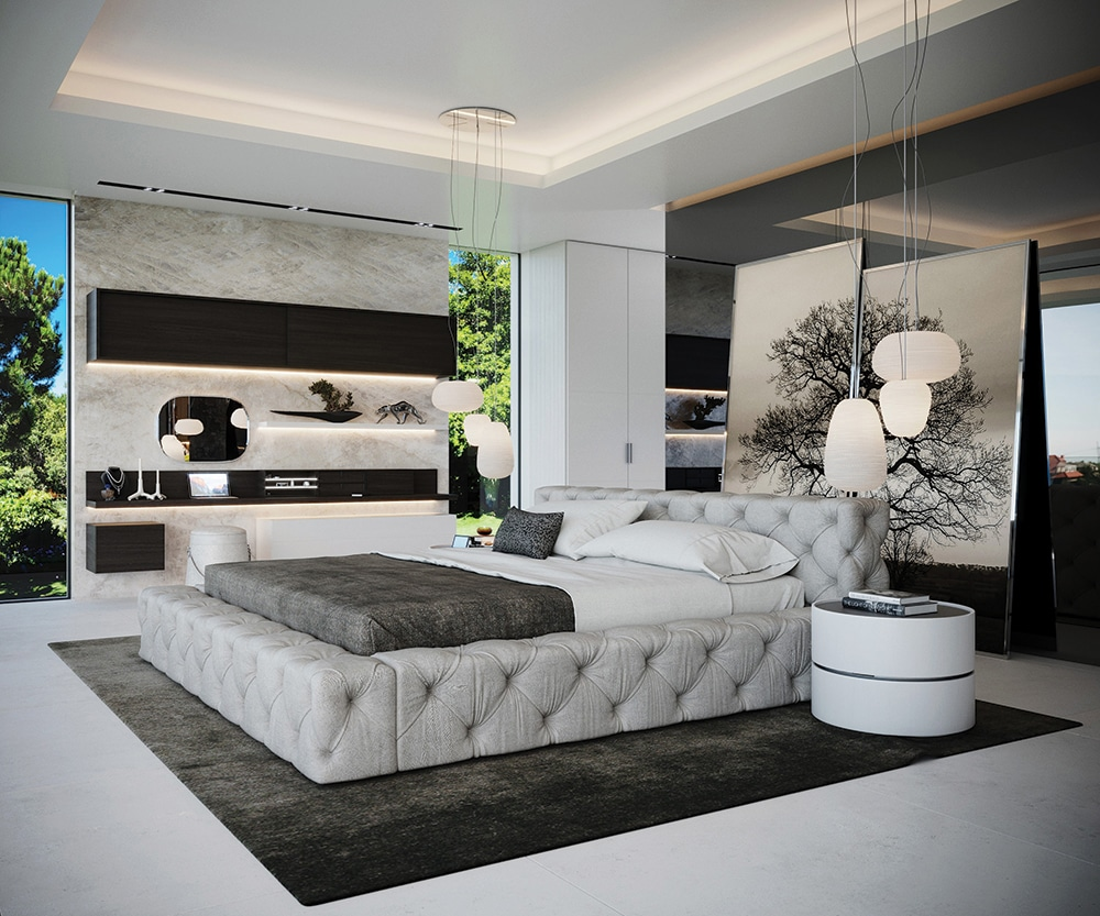 Creating the contemporary well designed bedroom for Well designed bedrooms