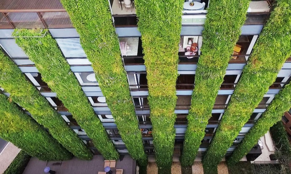 The Best And Biggest Vertical Gardens In The World Udesign