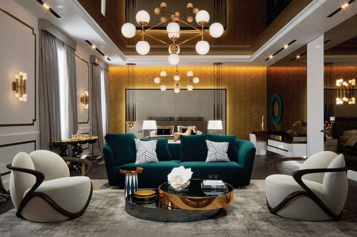 The Grand Master Suite, lounge area