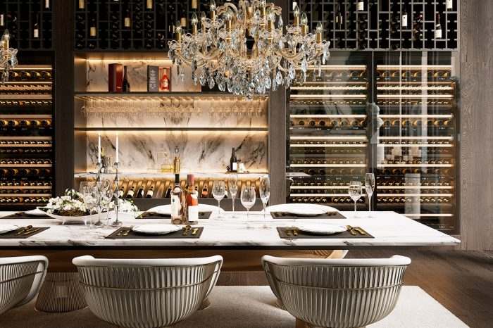 This is a dining room that invites you to celebrate only the best