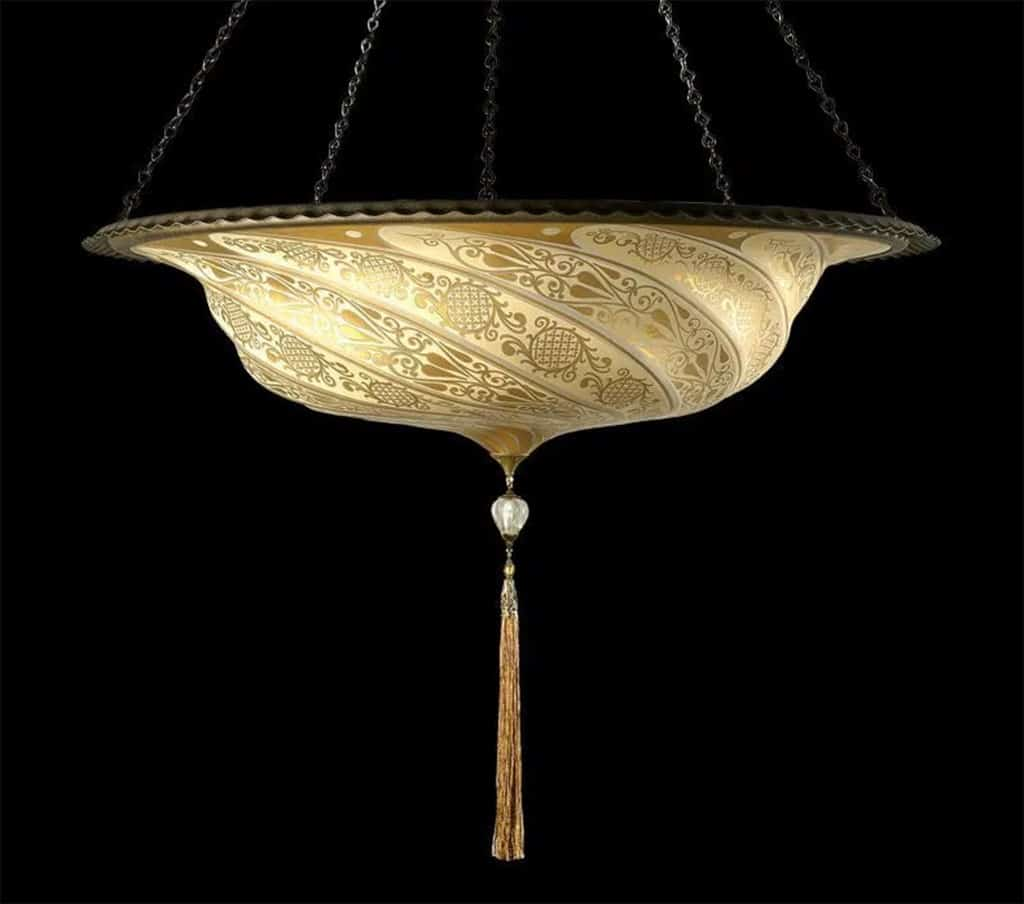 GLASS SCUDO SARACENO - FORTUNY