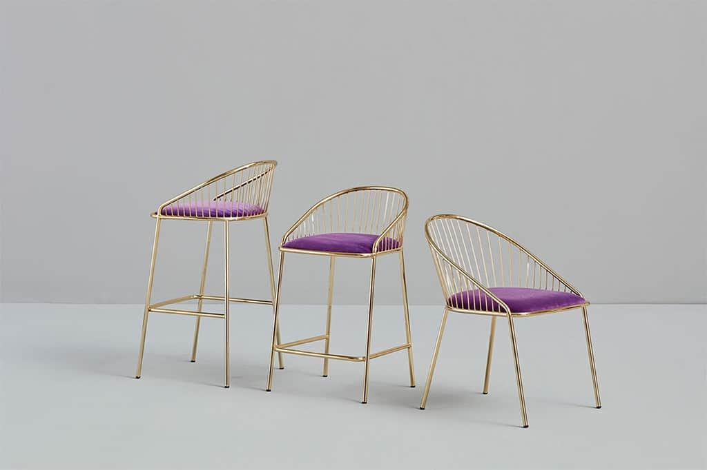 ÁGORA CHAIR & STOOL - MISSANA