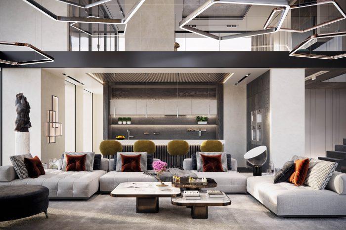 golf penthouse