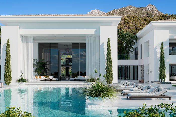 Architecture Project, Cascada de Camojan, Marbella