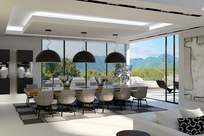 3D Visuals for project in Sierra Blanca, Marbella