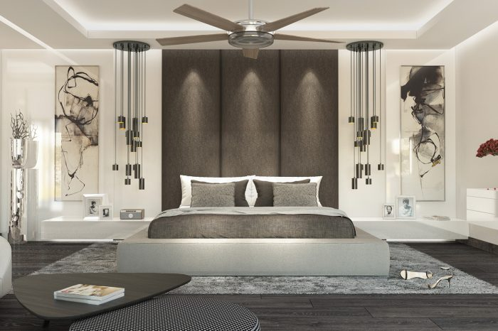 Bedroom for a project in La Cerquilla, Marbella