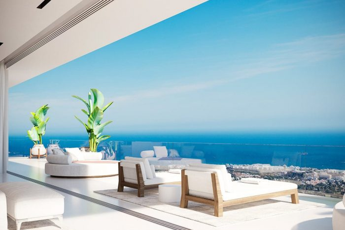 Master Bedroom Suite Terrace - a combination of siesta and sunbathing. And one of the most spectacular vantage points to appreciate the view