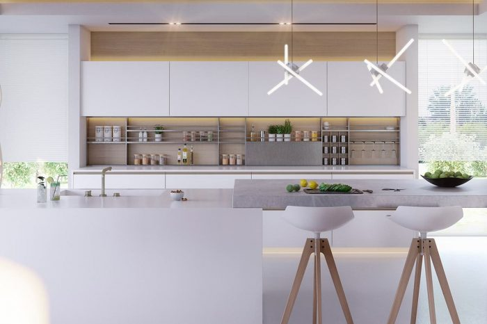 The small, but perfectly formed kitchen