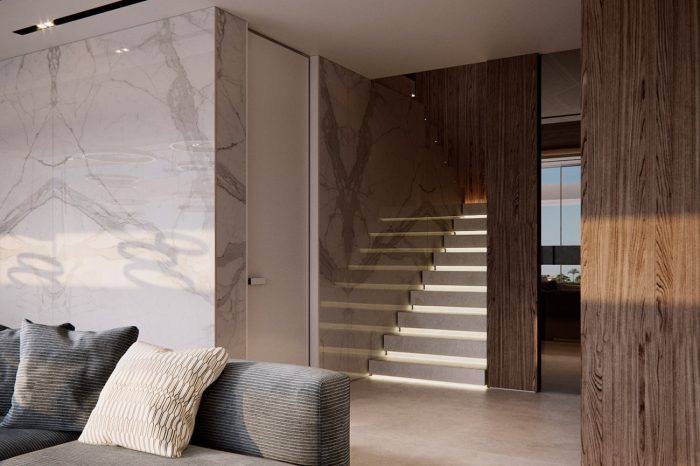 Natural tones, colours and textures makes for a relaxing ambience.