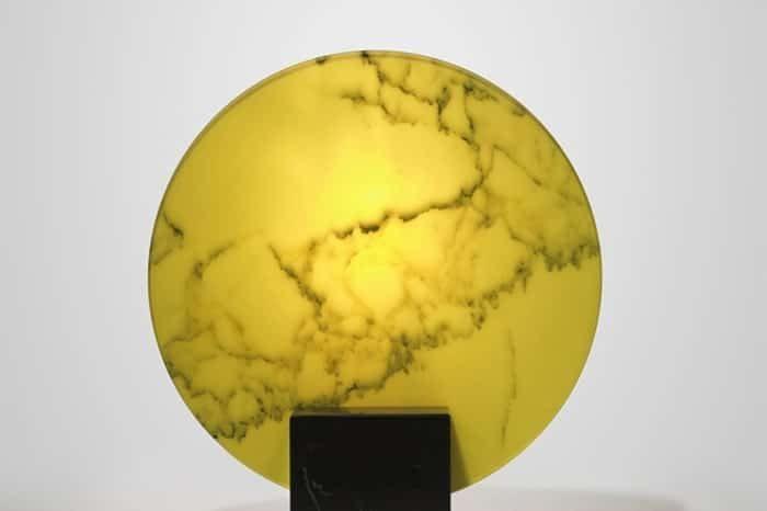 LEE BROOM - ACID MARBLE TABLE LAMP